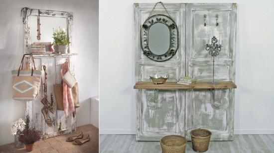200 ideas nuevas de reciclar dise os originales y - Recibidores originales reciclados ...