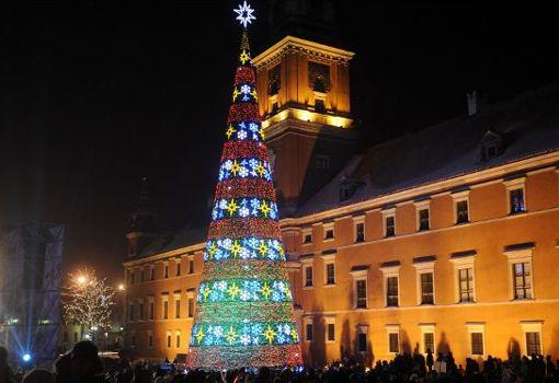 rboles navideos iluminados