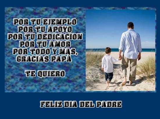 Tarjetas de para imprimir gratis de Día del Padre, en casa