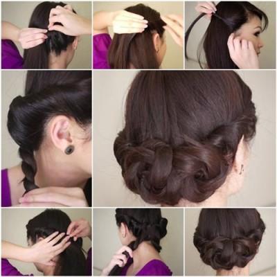 imagenes paso a paso de peinados faciles x