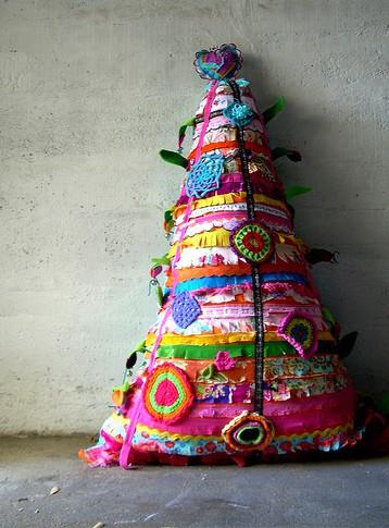 diseos de rbolitos de navidad muy artesanales