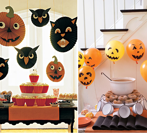 im genes con ideas para decorar la casa en halloween