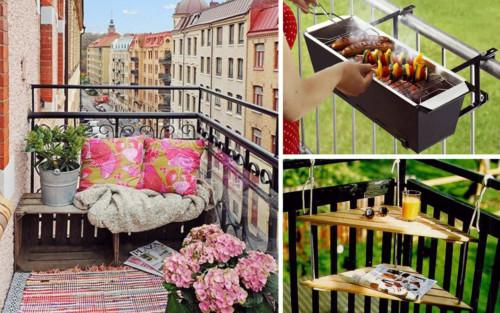 Ideas nuevas y modernas para decorar el balc n for Balcones decorados con plantas