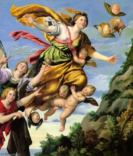 Domenichino(DomenicoZampieri)-TheAssumptionofMaryMagdaleneintoHeaven