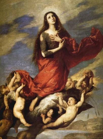 El-Espanoleto-Jose-de-Ribera-Assumption-of-Mary-Magdalene