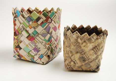 51 ideas nuevas con papel reciclado manualidades f ciles - Manualidades de papel reciclado ...