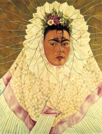 fredaAutorretrato como Tehuana