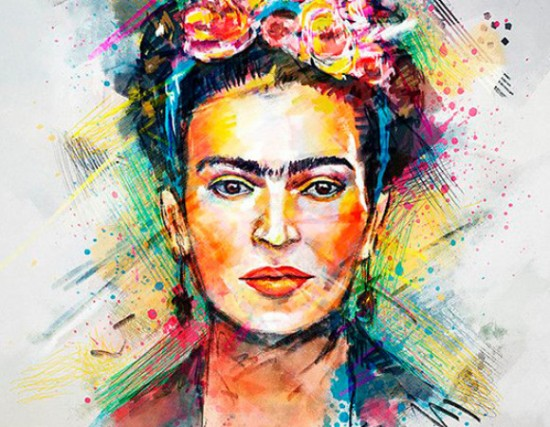 frida kahlo im genes fotos obras caricaturas frases. Black Bedroom Furniture Sets. Home Design Ideas