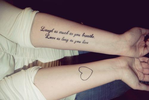 Ideas De Tatuajes Con Frases Cortas Disenos Para Mujeres Y Tatoo