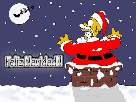 feliz-navidad-simpsons