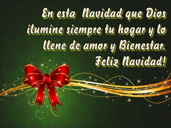 Postales de navidad con mensajes hermosos