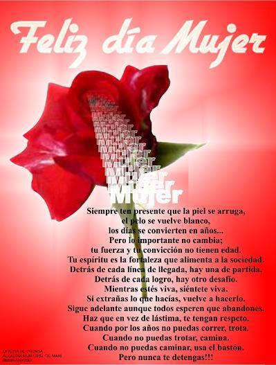 Dia De La Mujer 8 De Marzo Imagenes Tarjetas Saludos Informaciön Sobre La Mujer