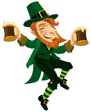 Dancing, Drinking Leprechaun
