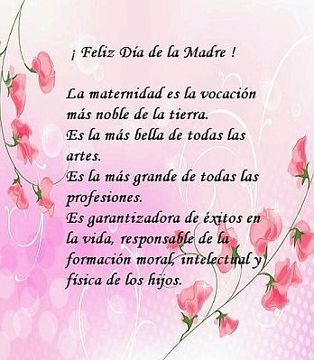 113 Tarjetas Con Flores Y Mensajes Para El Día De Las Madres Y Feliz