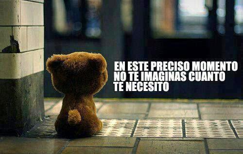 Te Necesito mi vida