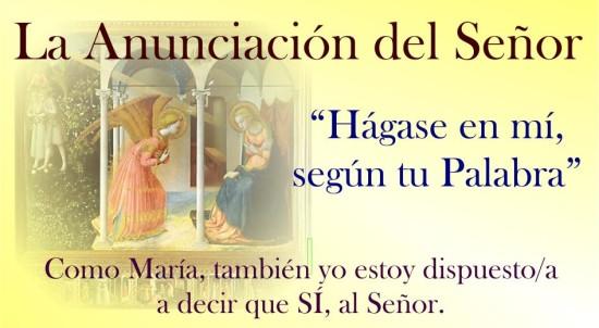 anuLa Anunciación del Señor (foto)