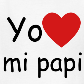yo-quiero-mi-papi-children-s-t-shirt_design