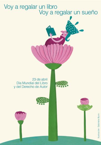 Cartel-afiche-dia-Mundial-del-Libro-2015-Gabriela-Burin