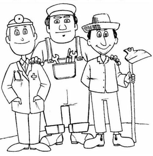 1º De Mayo Dia Del Trabajador Dibujos Carteles Reflexiones
