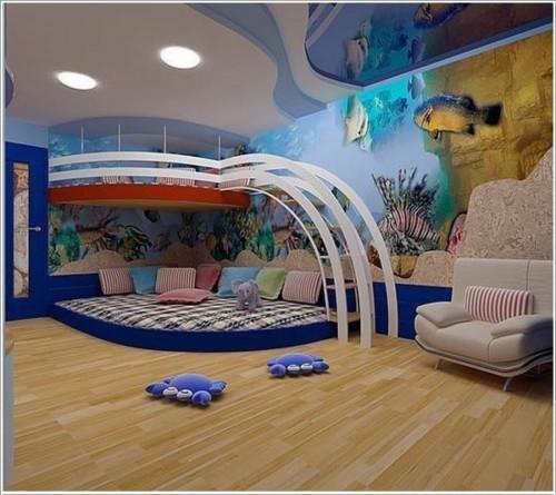Ideas originales y divertidas para decorar cuartos for Ideas para cuartos de ninos