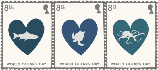 Happy-World-Oceans-Day-Stamps