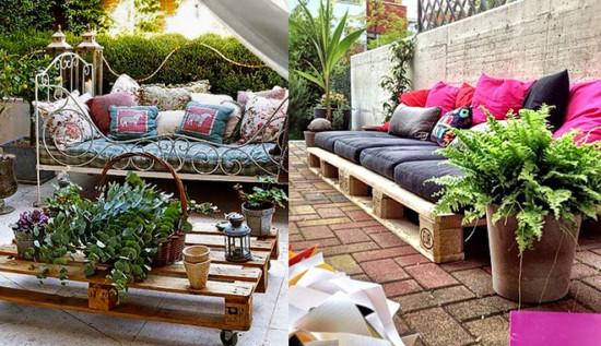 Reciclar-palets-muebles-jardin