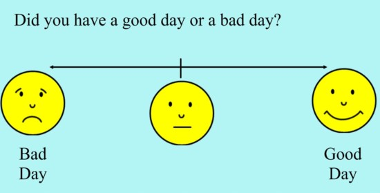 good day or bad day