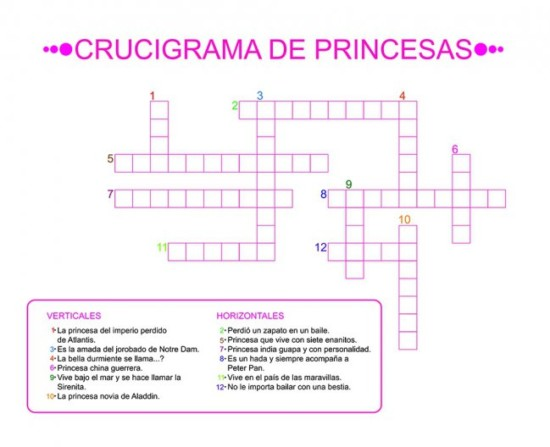 Crucigrama De Cumpleano | www.imagenesmy.com