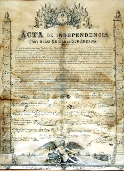 bicentenarioActa de la independecia argentina