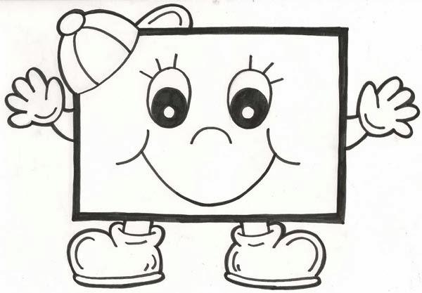100 Figuras Geométricas Infantiles En Dibujos Para Niños Formas