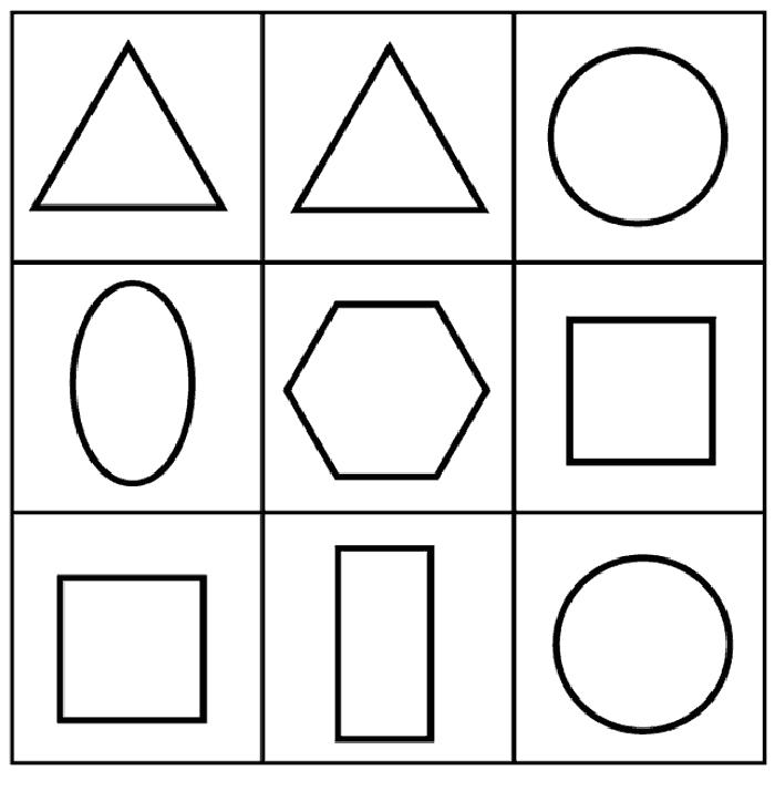 Dibujo De Figuras Geometricas. Finest Formas Geomtricas Bsicas With ...