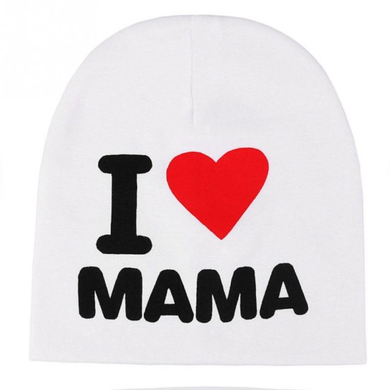 Nueva-moda-te-amo-mamá-del-sombrero-del-bebé-embroman-algodón-niños-gorros-Toddler-Boys-Girls