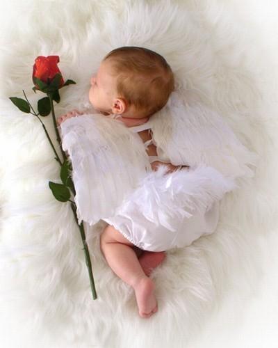 Tiernas-y-lindas-fotos-de-angeles-bebes-dormido