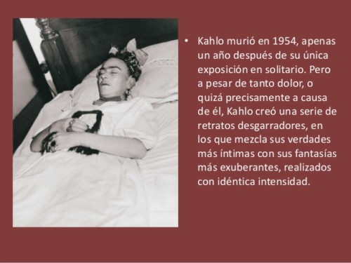 Frida Kahlo Imágenes Fotos Obras Caricaturas Frases Muerte