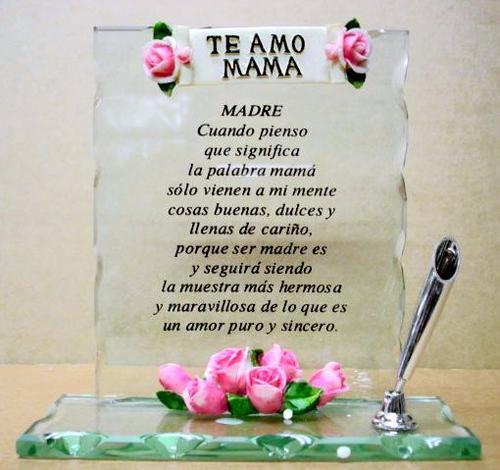 Imágenes De Te Amo Mamá Con Bonitas Frases Para El Día De La Madre