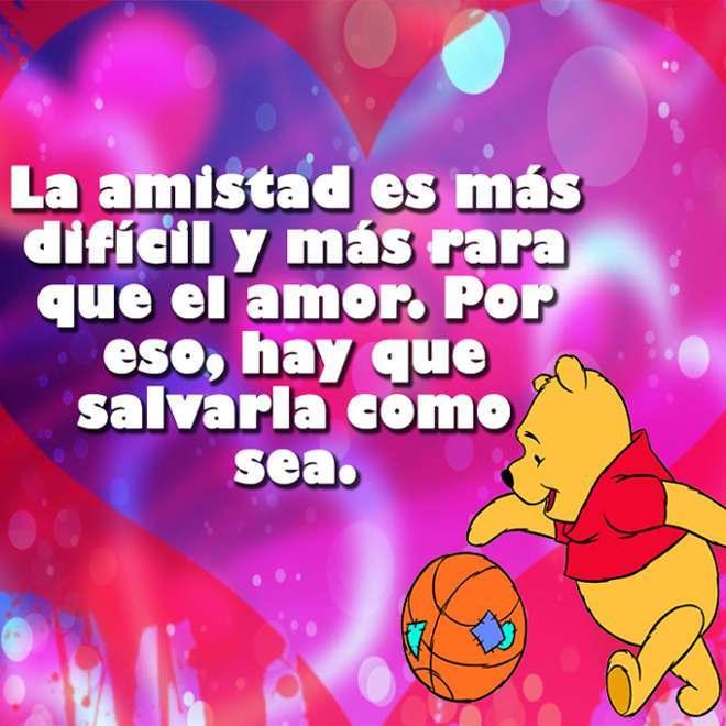 Imágenes De Winnie Pooh Con Frases Dulces Y Tiernas De Amor