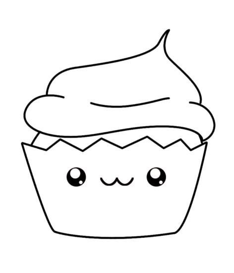 kawaii-cupcake-coloring-page