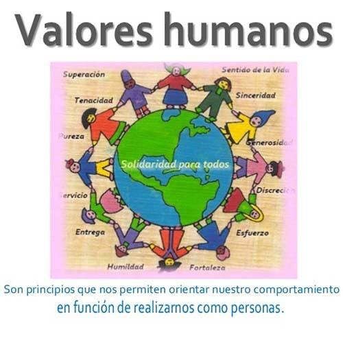 que-es-valores-humanos