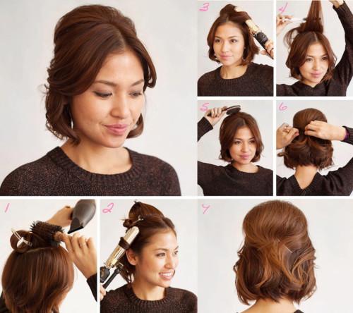 Peinados faciles para trabajar pelo largo