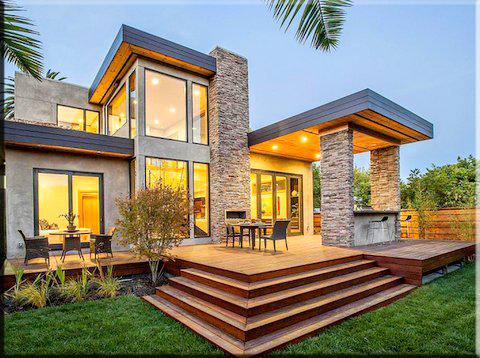 85 im genes de fachadas de casas lindas modernas y sencillas - Casas rusticas modernas fotos ...
