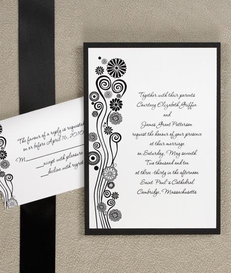 Invitaciones de boda modernas 3
