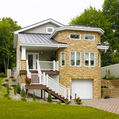 85 im genes de fachadas de casas lindas modernas y sencillas for Diseno de casa sencilla