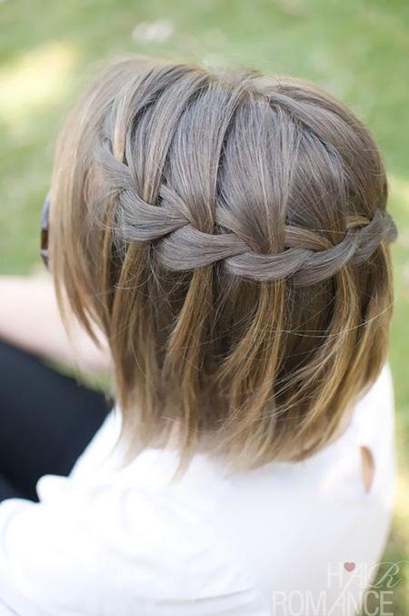 Peinados en pelo corto faciles