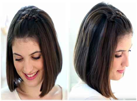 105 peinados fciles y bonitos de mujer cabellos cortos y largos