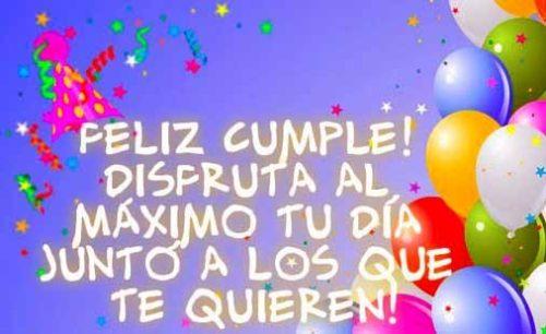 Mensajes De Felicitaciones De Cumpleaños En Imágenes Ideas
