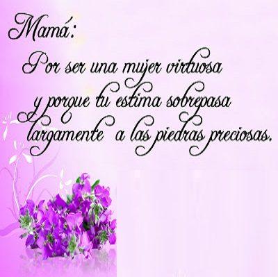 Imagenes Frases Y Poemas De Amor Carino Y Reconocimiento Para Mama