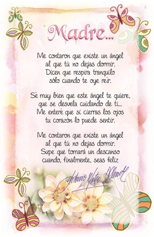 Imágenes Frases Y Poemas De Amor Cariño Y Reconocimiento Para Mamá