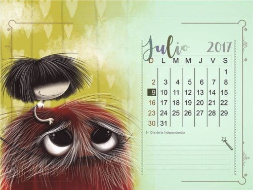 calendarios 2017 y 2018  u2013 calendario puro pelo 2017