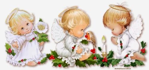 45 Angelitos Navideños Para Descargar En Navidad