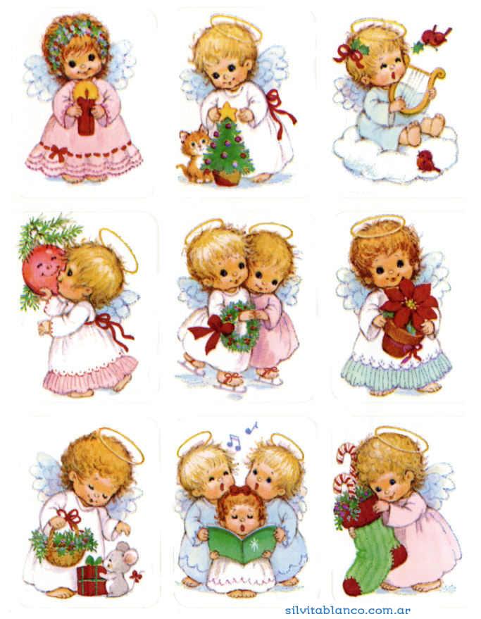 Imagenes De Angelitos Navidenos.45 Angelitos Navidenos Para Descargar En Navidad